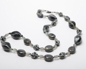 Veronique ceramic beaded necklace