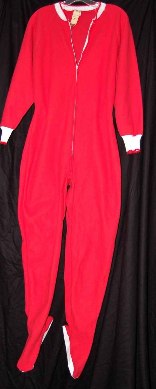 Vintage Dr Denton S Footed Pajamas Adult Onesie Nos