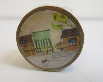 Washi Masking Tape - Shading dye Illustration Shop