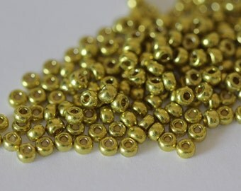 11/0 Duracoat Galvanized Zest #4205 Miyuki Seed Beads 16 grams (M-2E)