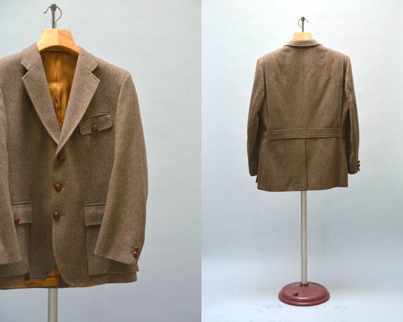 anglais veste en tweed vintage hommes sur mesure pays chasse. Black Bedroom Furniture Sets. Home Design Ideas