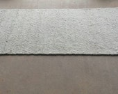 ALPACA Rug, 2 1/2 Feet Wide, 5 1/2 Feet Long.  Hand Woven, Durable Berber Style with all Natural Colors.