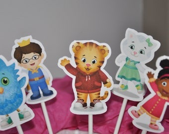 Daniel Tiger Cupcake Toppers Set of 12