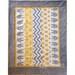 Yellow, grey, elephant blanket with grey minky dot