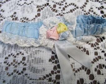 Vintage Bridal Flapper Garter