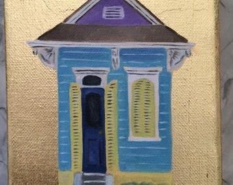 Shotgun house painting