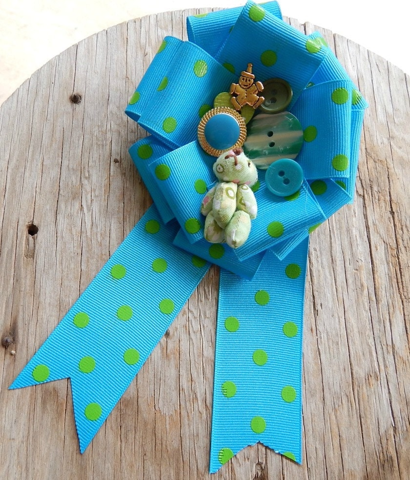 reduced price mommy to be corsage baby shower by cowgirluplady