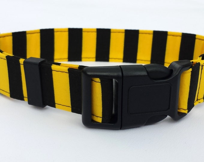 Bumble Bee Yellow and Black Stripe - Football Colours