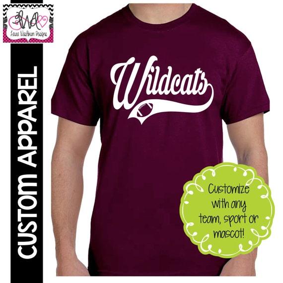Custom Apparel Custom Team Sport Swoosh T Shirt Baseball