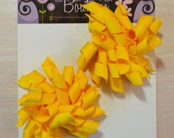 Korker Bow - Set of 2, Yellow
