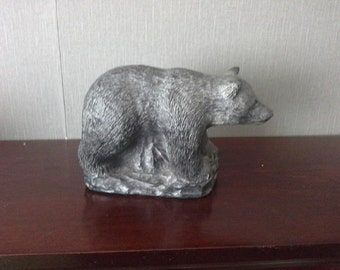 bear by wolf the wolf soulptures hand made in canada
