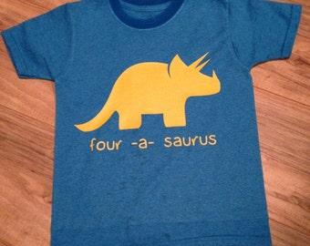 Birthday Dinosaur Shirt ANY AGE