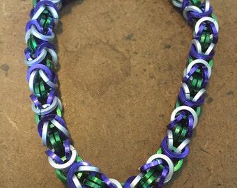 She-Hulk Inspired Byzantine Bracelet