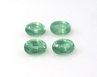 Green Kyanite Oval Cut 7x5mm Sale by Best in Gems  (8035)