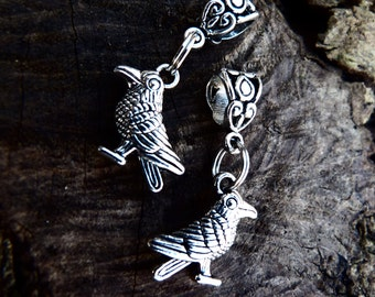 Raven Dread charm  -free worlwide postage if bought with another item