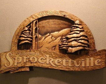 CUSTOM CABIN SIGNS | Carved wooden signs | Custom Wood Signs | Cottage Signs | Home Signs | Vacation Home Signs | Mountain Home Signs | Sign