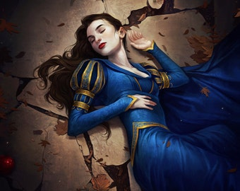 Snow White Limited Edition Fine Art Print