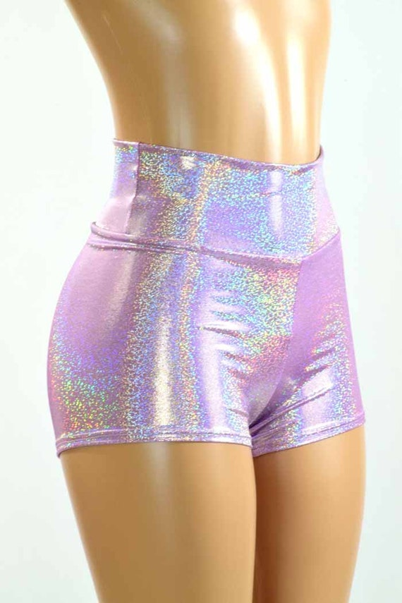 Purple Santorini Shorts - Girls. Purple Santorini Shorts - Girls. Your sweetie will enjoy lasting comfort in these shorts that have soft stretch fabric and a colorful boho print. 95% rayon / 5% spandex Machine wash; tumble dry Assembled in the USA using imported materials more.