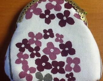 Purple Hydrangea Coin Purse