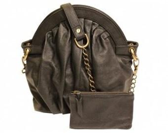 """Bag purse vintage """"Vintagefolds"""" black lamb leather. Sold out!"""