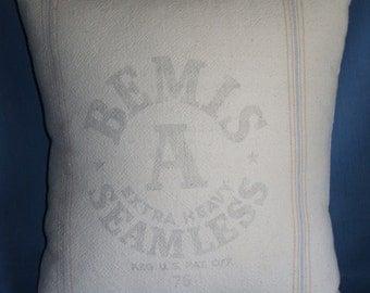 Bemis A Feedsack Pillow