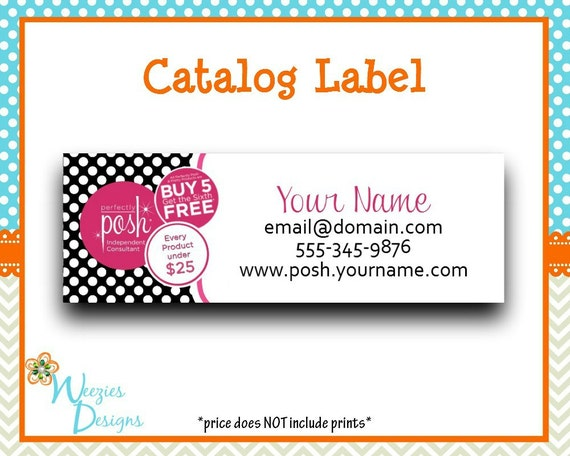 perfectly posh catalog label direct sales by weeziesdesigns. Black Bedroom Furniture Sets. Home Design Ideas