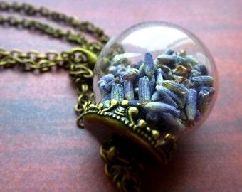 Necklace Lavender