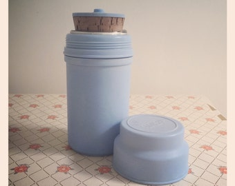 1950's Blue Bakerlite Thermos