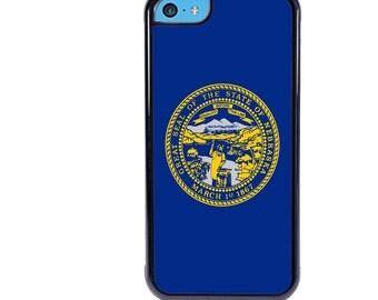 iPhone 5 5s 6 6s 6+ 6s+ SE 7 7+ iPod 5 6 Phone Case, Nebraska Flag, NE State Flag, USA, United States, Plus