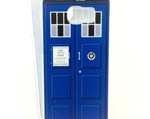 Tardis case for Samsung Galaxy S6/S7/Edge phone - inspired by Doctor Who - Blue Box Time Machine