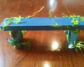 Faerie Bench for Garden / Potting Bench for Green House or Shed