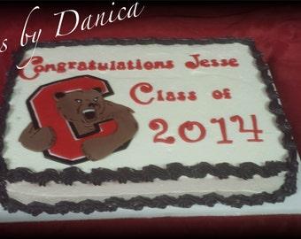 Graduation Cake Kit