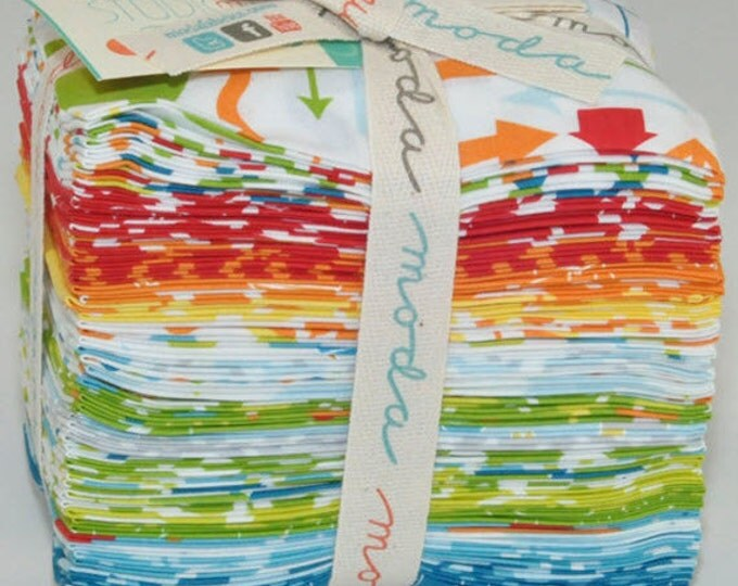 Mixed Bag Fat 8th Bundle - 40 Pieces Cotton Quilt Fabric - by Studio M for Moda Fabrics 32860F8 (W2726)