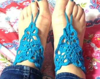 Barefoot sandals / yoga sandals handmade