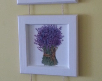 pictures lavender set of 3