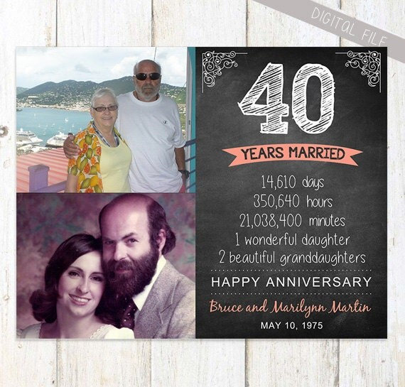 35th Anniversary Gift For Wife Husband Or Best Friends 35th