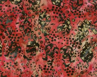 Anthology Fabrics Bali Batik 9169 Rose Yardage