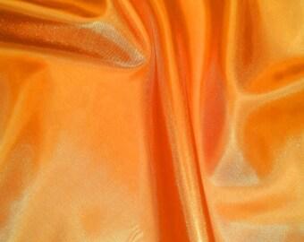 "Habotai 60"", By The Yard - Orange"