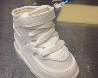 Sneaker 1 Pattern Template (AF1 Replica)