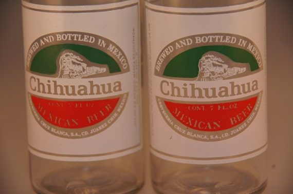 chihuahua beer chihuahua beer bottle salt and pepper shakers collectible 3135
