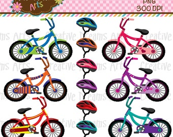 40% Off! Bicycle Digital Clip Art Instant Download