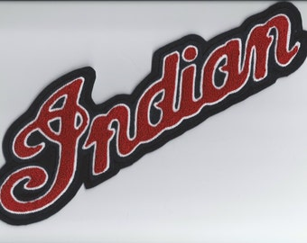 Indian Motorcycle chenille patch