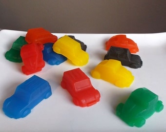 Car Party - Car Favors, Car Party Favors, Cars Birthday Party, Soap - Set of 10