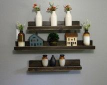 Floating Shelves, Shelving, Modern Shelves, Rustic, Home Decor, Wooden Shelf, Distressed, Shelving Unit, Wall Shelves, Wood Shelves, Shelf,