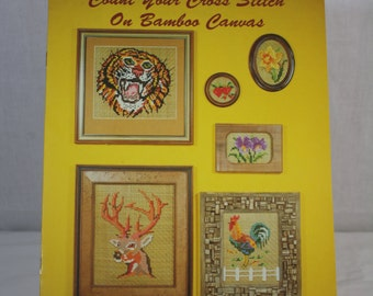 Count Your Cross Stitch on Bamboo Canvas