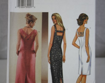 Butterick Pattern No. 3514 (12, 14, 16) 2002 Ladies Dress Uncut