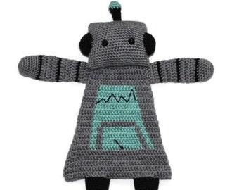 Robot Rag Doll; Robot Plushie; Robot Softie