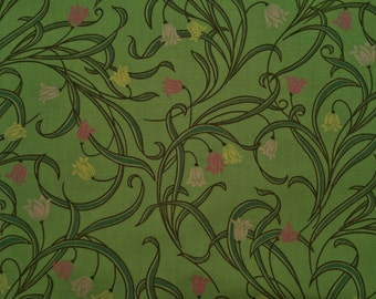Green Floral #32018 - Cotton Fabric