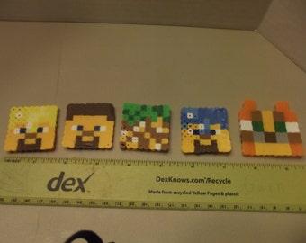 minecraft steve mix magnet pack
