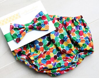 Hungry Caterpillar Diaper Cover, Baby Boy First Birthday Outfit, Cake Smash Outfit